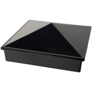 "Decorex Hardware 3"" x 3"" Aluminium Pyramid Post Cap"