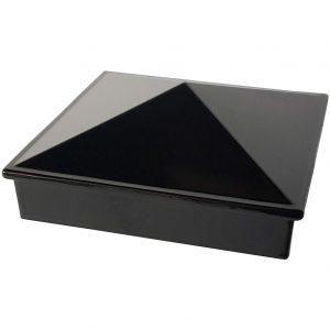 """Decorex Hardware 3"""" x 3"""" Aluminium Pyramid Post Cap"""