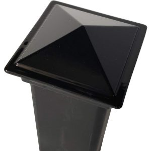 "Decorex Hardware 2"" x 2"" Aluminium Pyramid Post Cap"