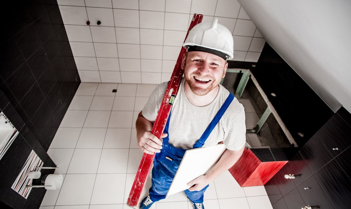 repair man home power tools