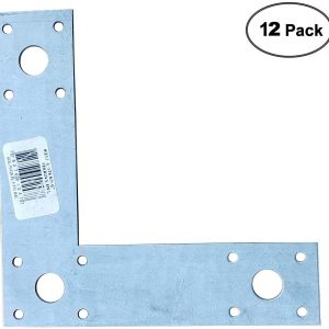 "L Strap 6"" Beam to Post Connection Support (12pack)"