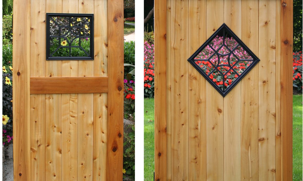 fence and gate insert