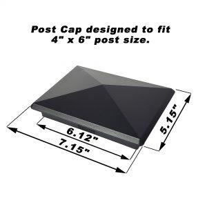 """4"""" x 6"""" Heavy Duty Aluminium Pyramid (4 Pack)"""