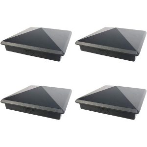 "5.5"" x 5.5"" decorex black (4pack)"