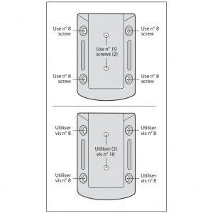 nuvo iron deck rail connectors