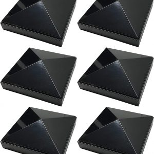 "4"" x 4"" Pyramid Post Cap 6pack"