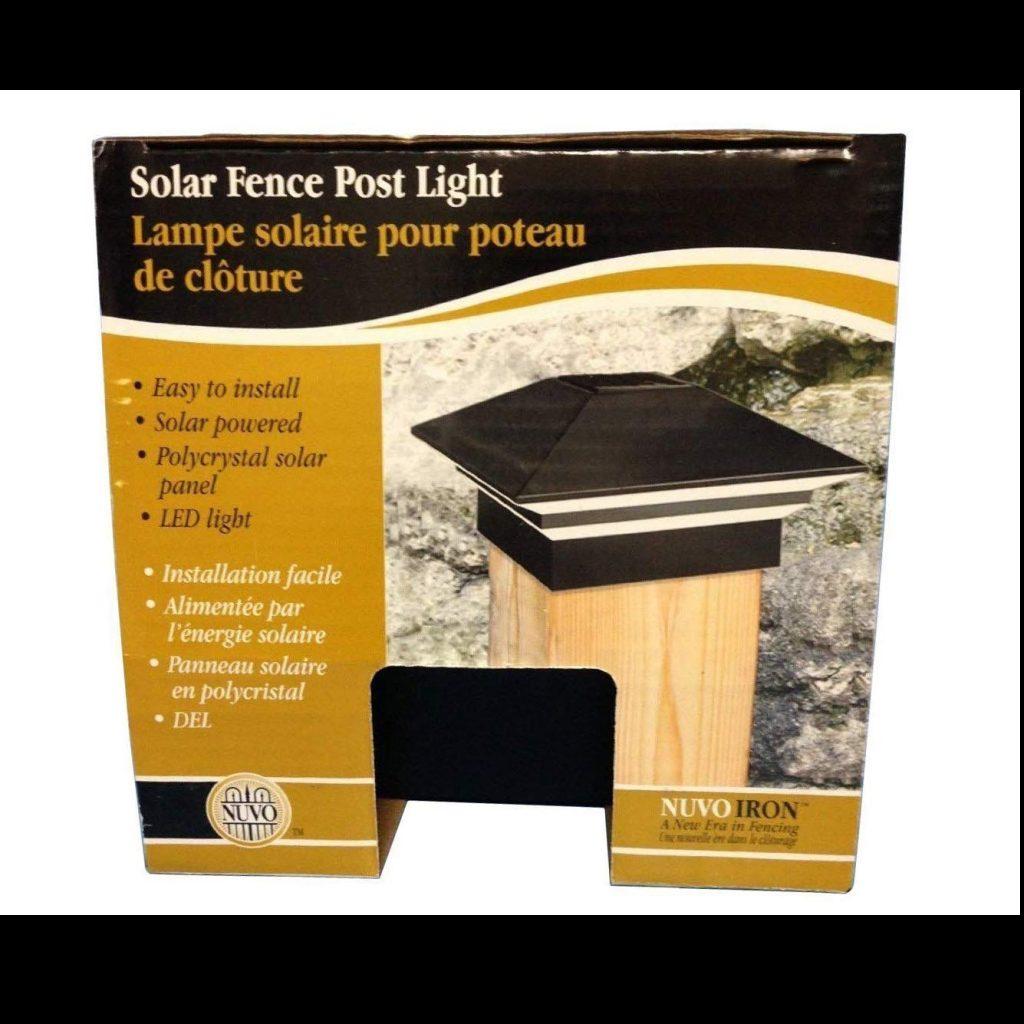 solar fence post - crop - deck accessories