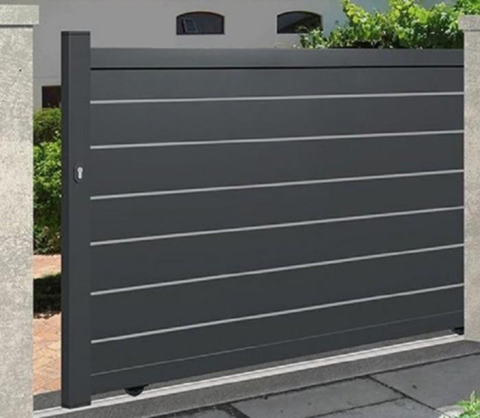 minimalist slider fence