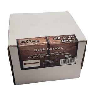 "#8 x 2"" Deck Screws"