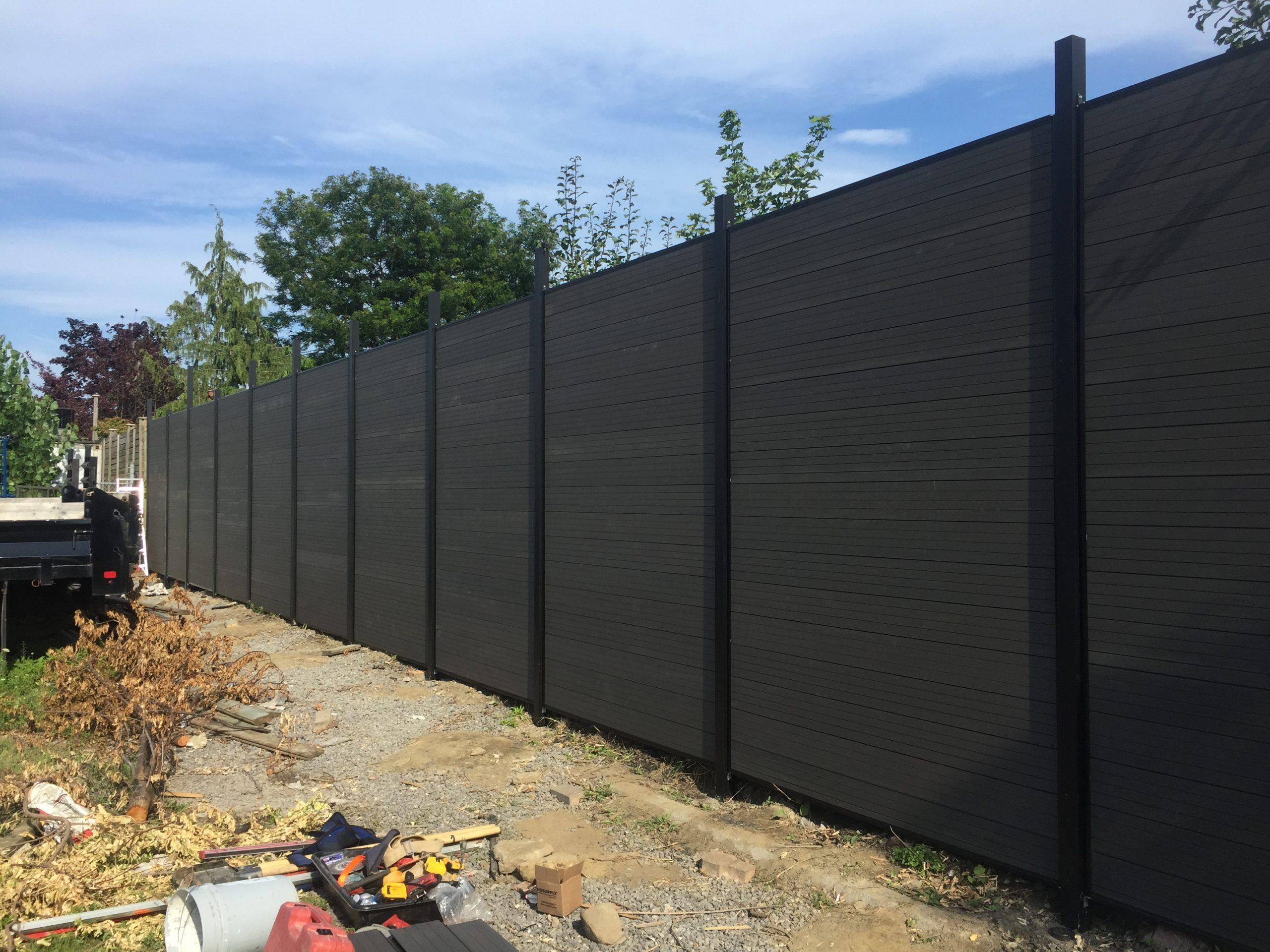 bio composite fencing