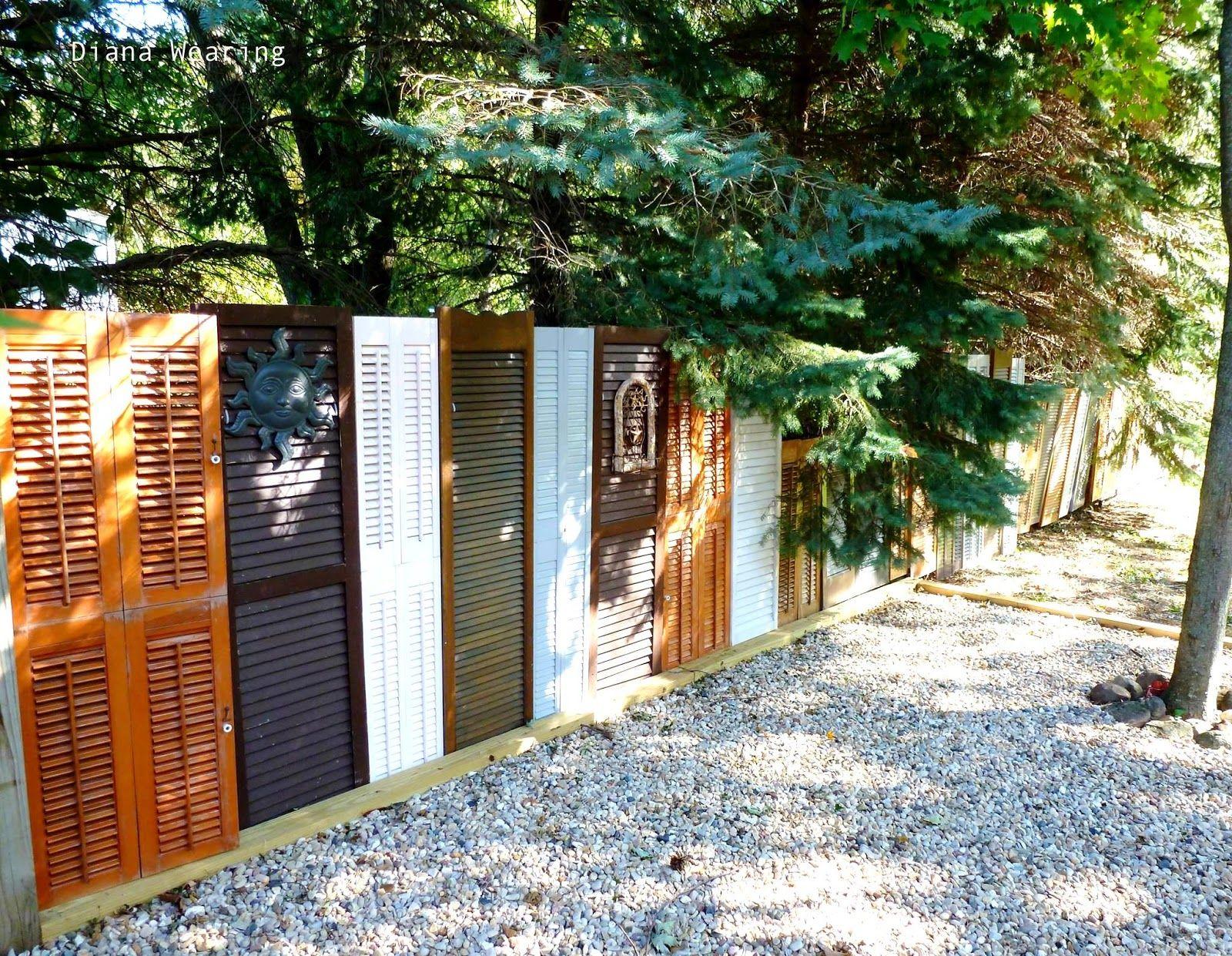 repurposed fence ideas
