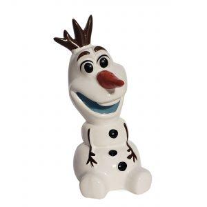 """Olaf 8"""" Ceramic Piggy Bank"""