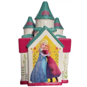 Frozen Castle Ceramic Piggy Bank