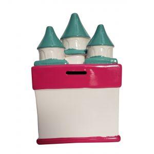 Disney Frozen Castle Ceramic Piggy Bank
