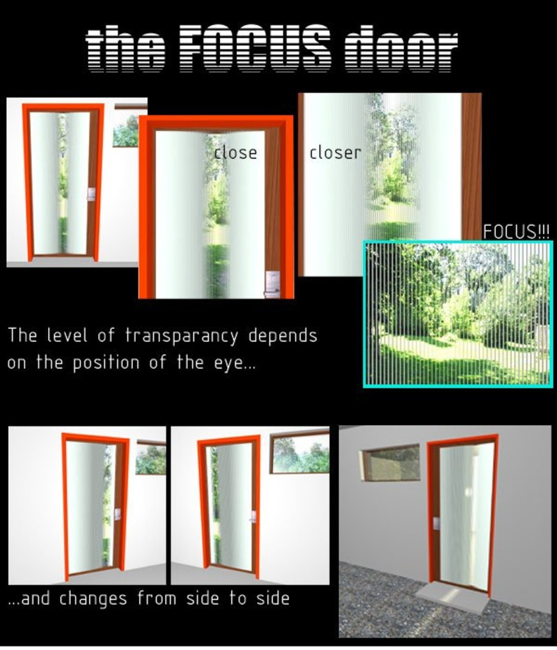 the focus door by marcus gustafsson from sweden