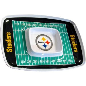 Steelers Chip N Dip Tray