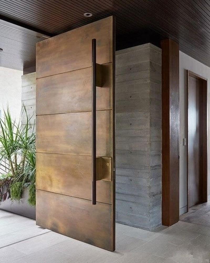architecture metal doors