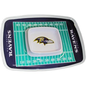 Baltimore Ravens Chip N Dip Tray