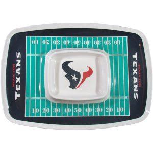 Houston Texans Chip N Dip Tray