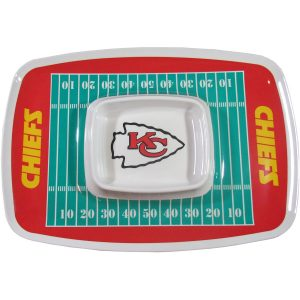 Kansas City Chiefs Chip N Dip Tray