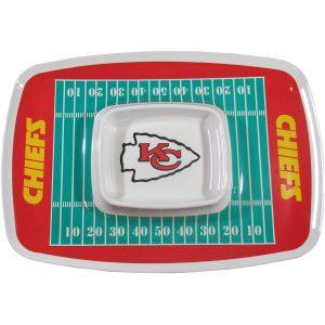Kansas City Chiefs Chip N Dip Tray