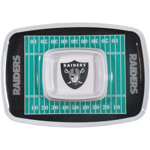 Oakland Raiders Chip N Dip Tray