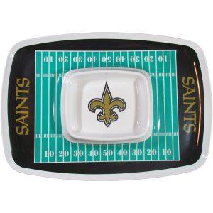 New Orleans Saints Chip N Dip Tray