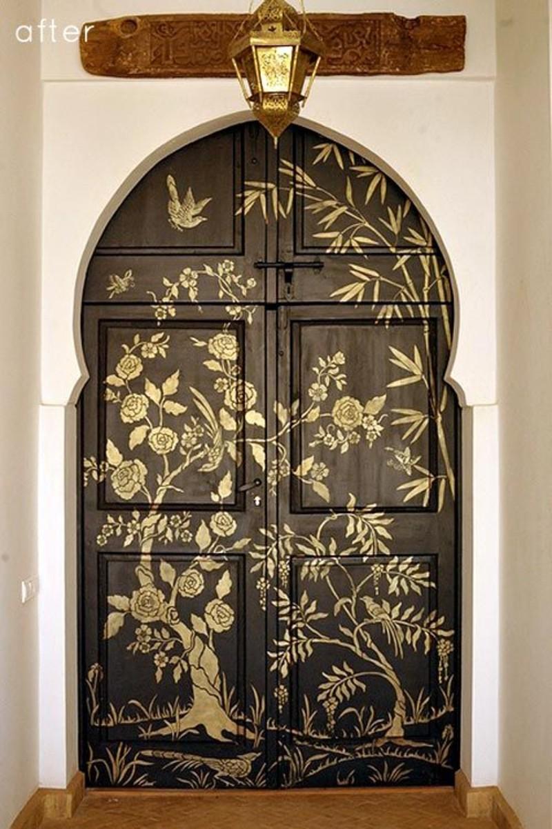 stencil doors