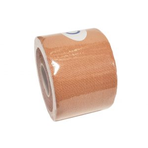"""Kinesiology Tape 2"""" x 16' (One Precut Roll) - Skin Color"""