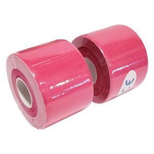 "Kinesiology Tape 2"" x 16' (Two Precut Rolls) - Pink"